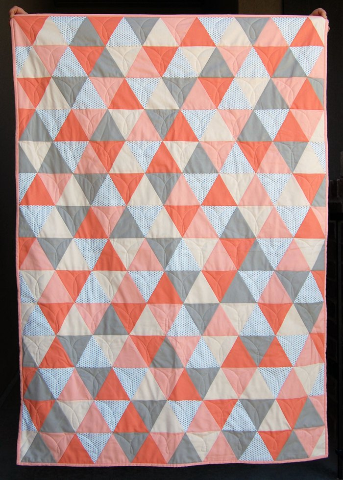 Mod Triangle Quilt
