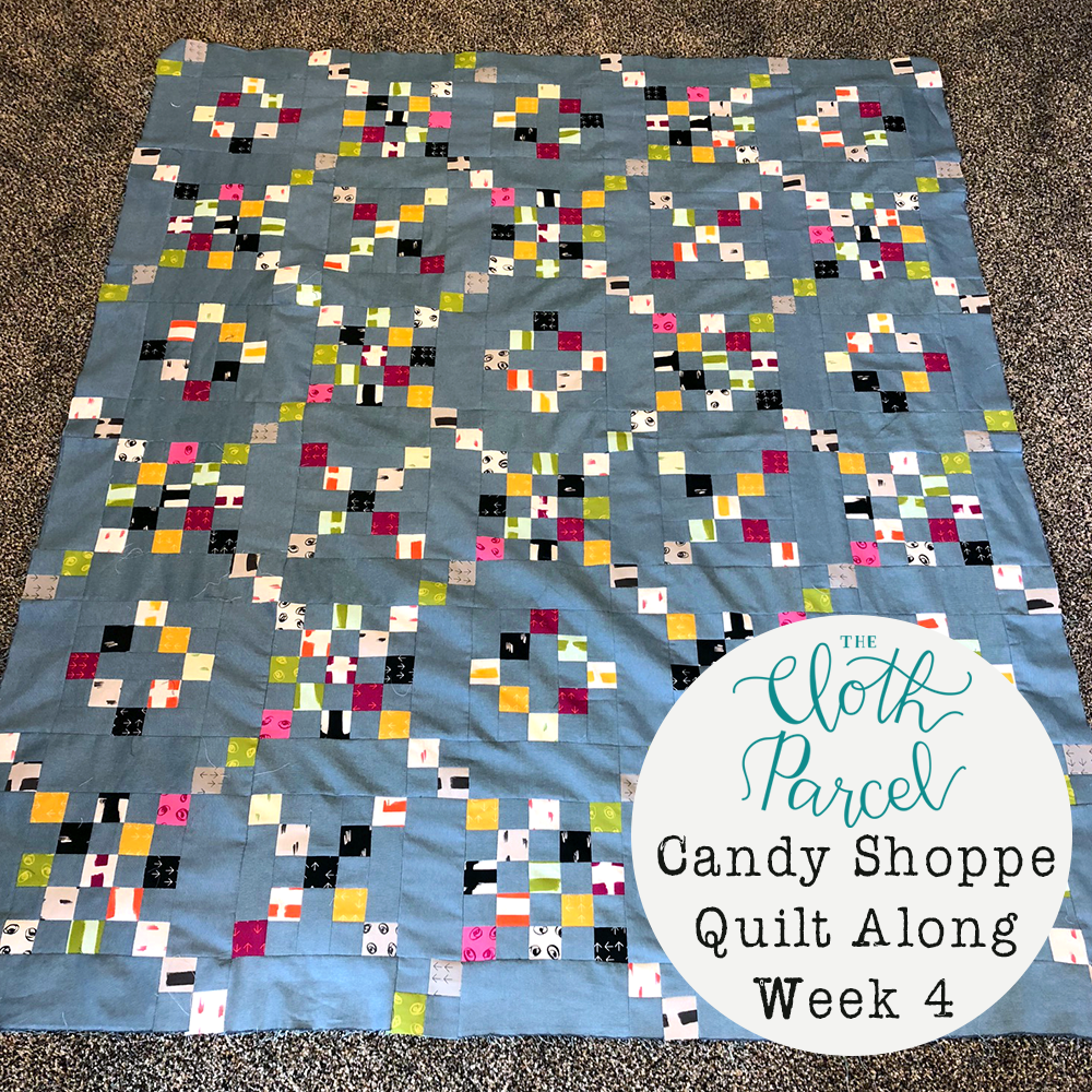 Candy Shoppe Quilt Along Week 4: Piece Quilt Top