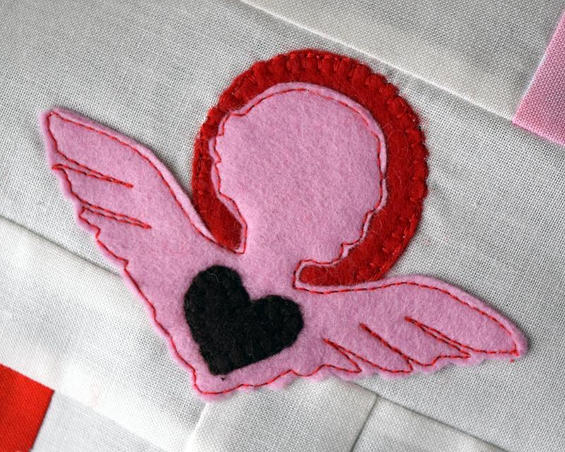 Cupid Applique