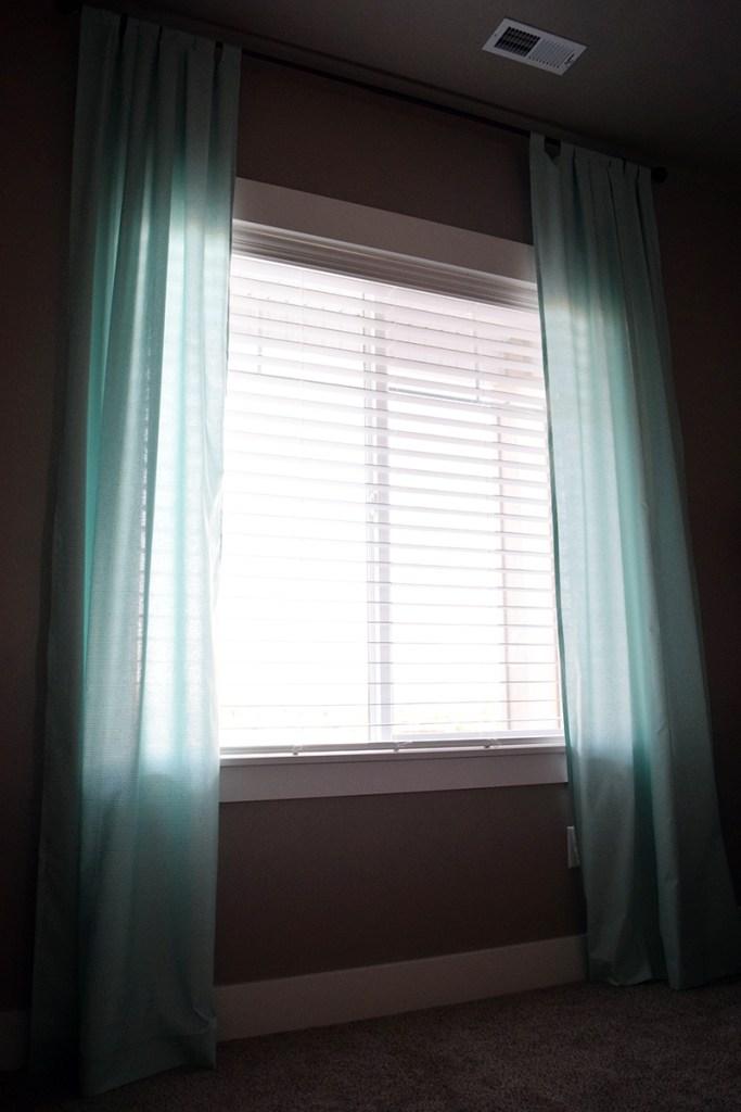 DIY Tab Top Curtains 2