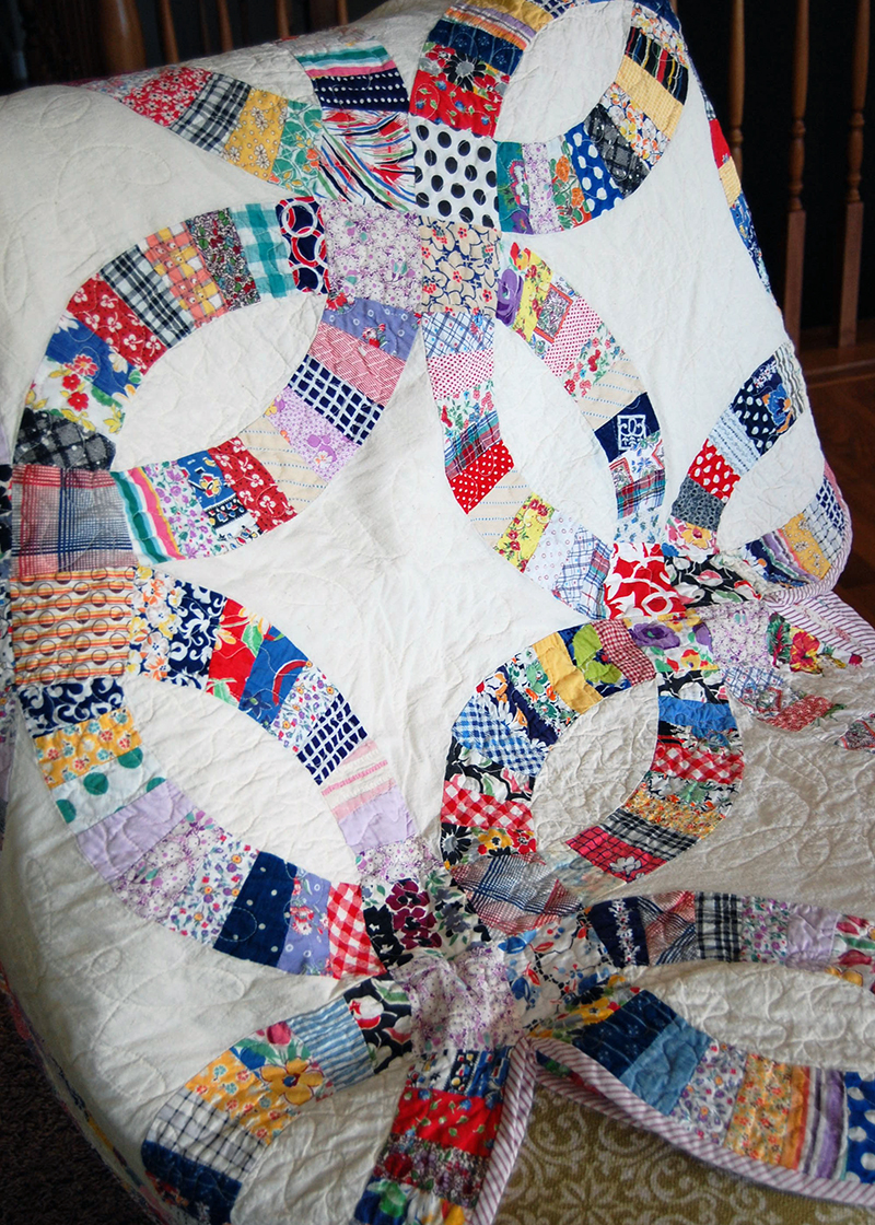 What Is A Wedding Ring Quilt