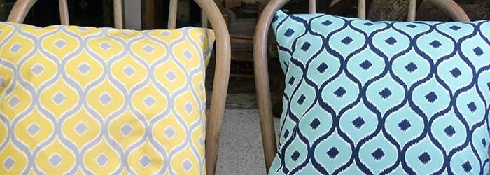 Make This: Easy Fat Quarter Pillow Cover Tutorial