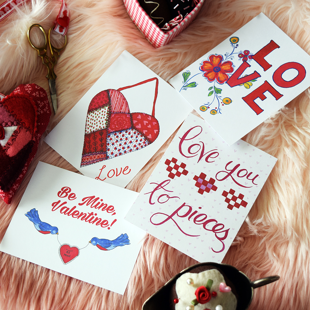 Free Printable Valentines Day Cards 2