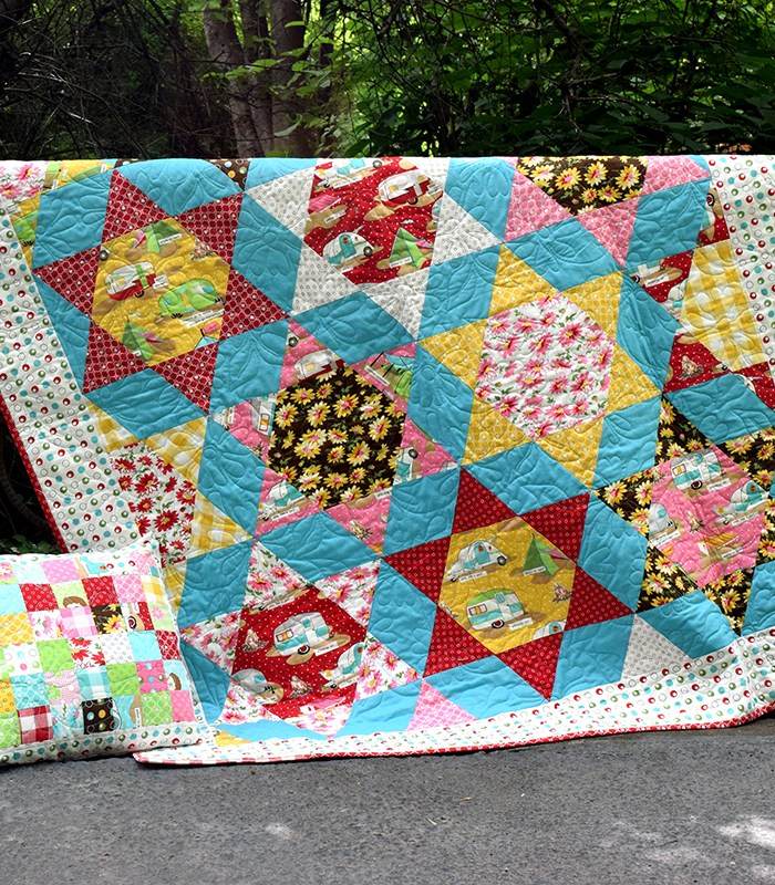 Glamping Star Farm Quilt