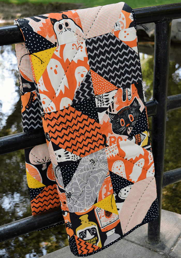Quilts We've Made: Halloween Crossroads Quilt