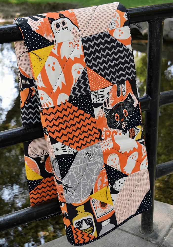 Quilts We've Made: Halloween Crossroads Quilt