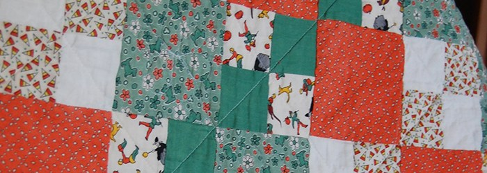 Quilts We've Made: Candy Corn Four Patch