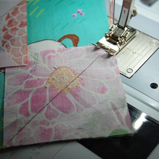 Sew-along-diagonals