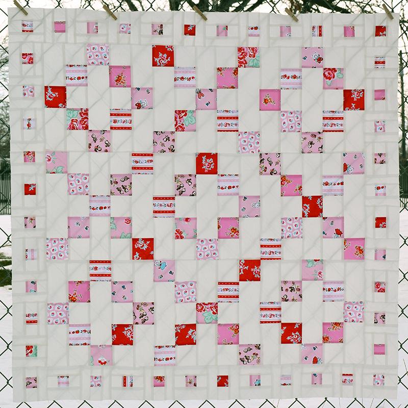 Valentine Mystery Quilt Top 3