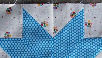 Make This: Snowball Quilt Block Tutorial : star flower quilt block pattern - Adamdwight.com