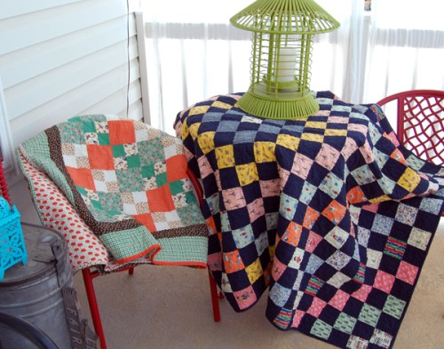 Quilts with 30's Green