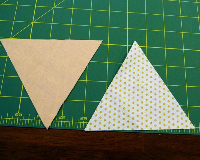 sew-triangles-together