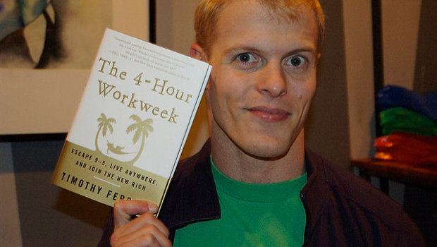 Tim Ferris and the 4-hour workweek book