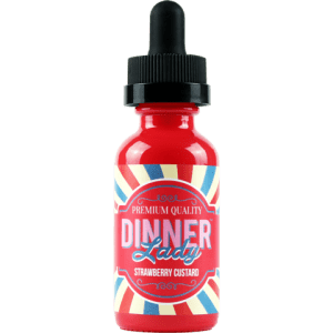 Dinner Lady E-liquid- Strawberry Custard