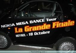 La grande finale du Nokia Mega Dance Tour au Heysel