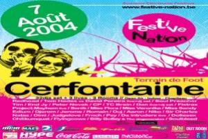 Festive Nation: Electronic Summer Festival le 7 août 2004