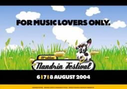 Nandrin Festival 2004 les 6, 7 et 8 août