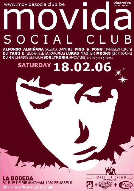 Movida Social Club @ La Bodega le 18 février 2006