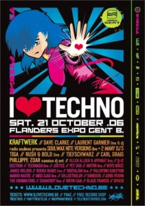 I Love Techno @ Flanders Expo (Gent) le 21 octobre 2006