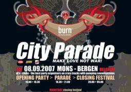City Parade 2007 @ Mons le 8 septembre 2007
