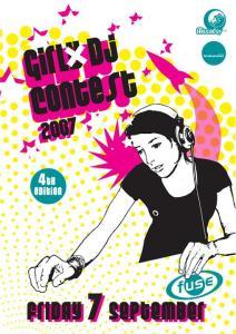 Girly DJ Contest 2007 Fuse Club