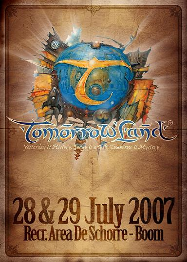 Tomorrowland 2007 @ Recreatie Area De Schorre (Boom, Anvers) le 27 et 28 juillet 2007