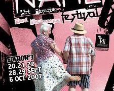 N.A.M.E Festival @ Maubeuge Dunkerque Lille en septembre et octobre 2007