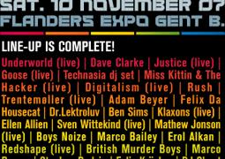 I Love Techno @ Flanders Expo (Gand) le 10 novembre 2007