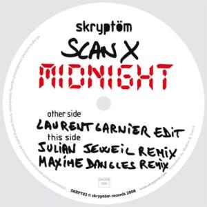 Scan X - Midnight EP [feat. Laurent Garnier] - Skryptom Records