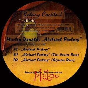 Martin Donath - Abstract Factory - Rotary Cocktail Recordings