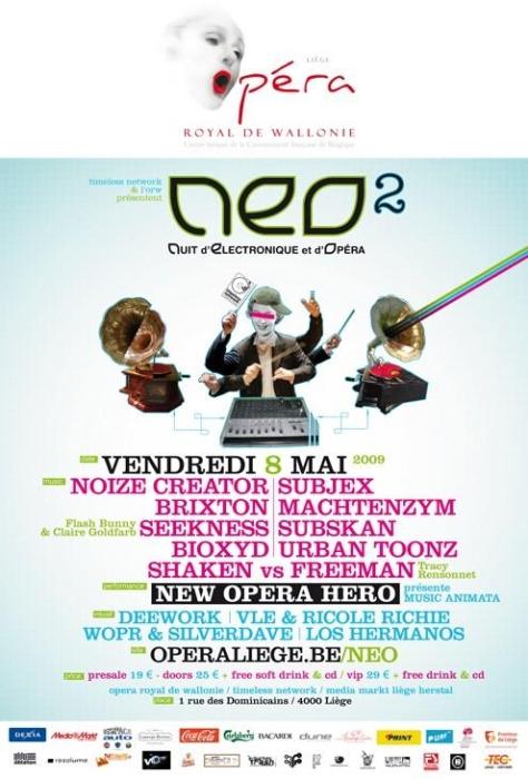 La Nuit d'Electronique et d'Opéra est de retour ce vendredi 8 mai 2009