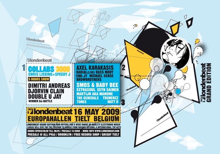 Londenbeat 2009, ce samedi 16 mai 2009 à l'Europahall à Tielt