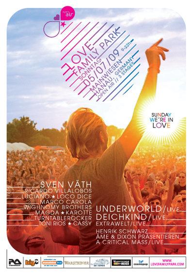Le Love Family Park est de retour ce dimanche 5 juillet à Hanau (Allemagne)
