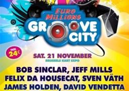 Une décennie de Groove City ce 21 novembre 2009 à Bruxelles