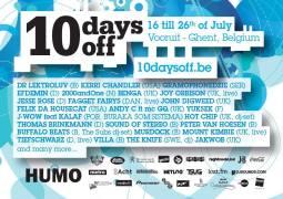 DJ Hell clôturera les 10 Days Off