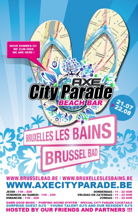 Le City Parade Beach Bar accueille TheClubbing ce 31 juillet