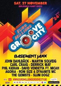 La Groovecity revient ce samedi 27 novembre au Brussels Kart Expo