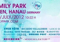 Love Family Park 2012, le dimanche 8 juillet