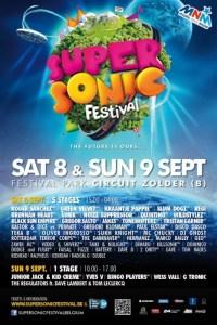 SuperSonic Festival Zolder, édition 2012