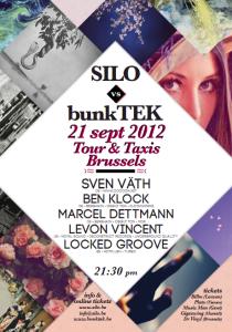 Silo vs bunkTEK au Tour & Taxis le 21 septembre