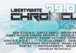 Liberty White Chronicles 2013, le 9 février au Courtrai XPO