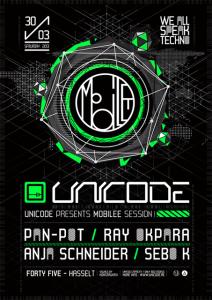 Unicode invite Mobilee le 30 mars
