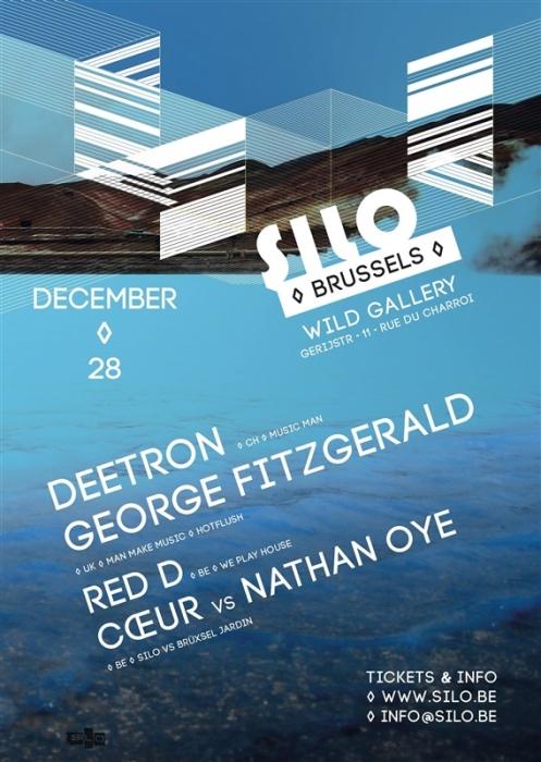 Le Silo invite Deetron et George Fitzgerald le 28 décembre
