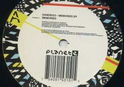 Sandiego - Memories EP - Planet E