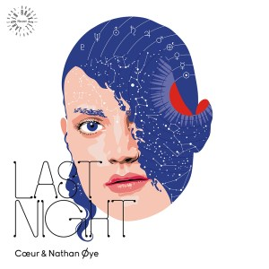 Coeur & Nathan Øye - Last Night EP - Brüxsel Jardin Records