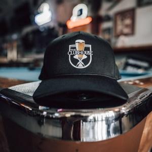 The Clubhouse Black Hat Flexfit