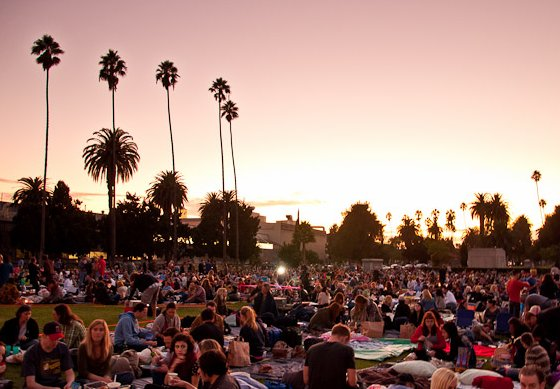Hollywood Forever Movie Screening