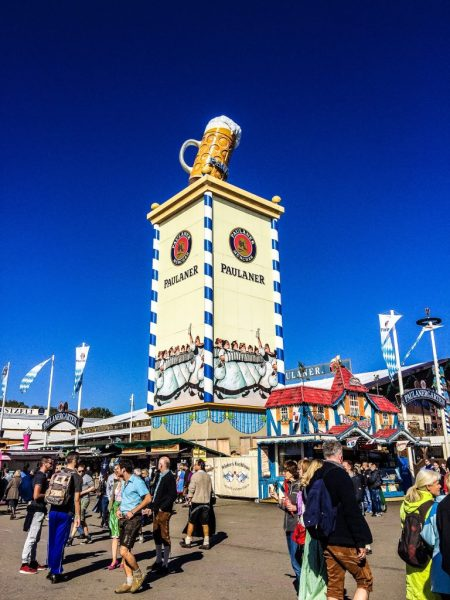 Paulaner Beer in Germany - Guide to Oktoberfest