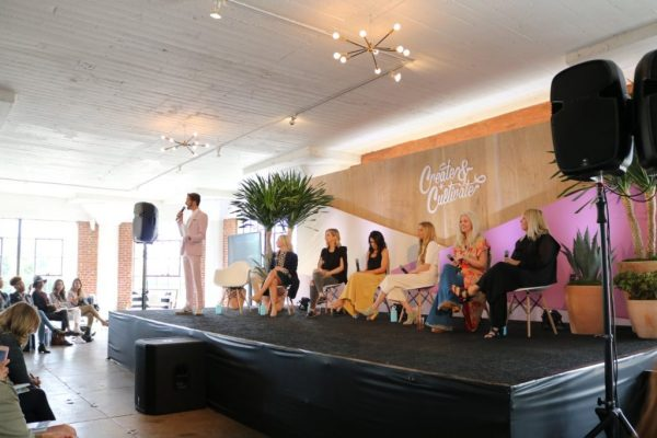 panel at Create and Cultivate