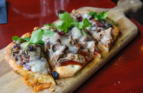 Best Food in Vancouver - Duck Pizza at Locus Lounge